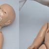 Manichino Neonato per BLS con Modulo Omni